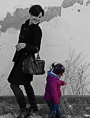 Modelo invitada / Guest model (Orzaez212) Tags: winter portrait woman color girl children model chica exterior outdoor retrato candid olympus niña contraste invierno filtro
