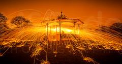 043 roundhay park light painting.jpg (ade_mcfade) Tags: longexposure england lightpainting yorkshire leeds sparks roundhaypark