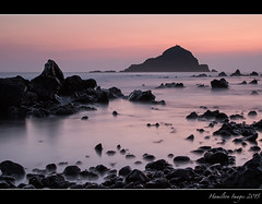 Alau Island At Dawn (Hamilton Images) Tags: sky rock clouds sunrise canon landscape dawn hawaii lava surf waves january maui hana kokibeach 2015 24105mm img3211 leefilter alauisland 7dmarkii 09softedgegraduatedneutraldensity