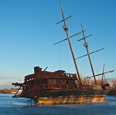 "Grande-Hermine (Xsbmrnr (Please read profile before ""following"") Tags: shipwreck pirateship jordanharbour grandhermine"