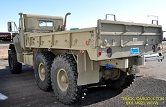 (1983)  Truck, Cargo, 5 Ton, 6X6, M-923, WO/W (without winch) (Digital Vigilante) Tags: 1983 2014 5tontruck amgeneral militarytruck m923 dropsidecargotruck