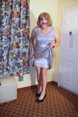 new99628-IMG_4129t (Misscherieamor) Tags: tv feminine cd motel tgirl transgender mature sissy tranny transvestite crossdress ts gurl tg travestis travesti travestie m2f lacedress xdresser tgurl slipshowing