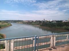 Ponte da Amizade, Brasil e Paraguai.