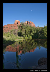 Arizona Sedona Reflecting Pool 2011 (javalvr3) Tags: arizona reflection nikon sedona redrocks 2011 d90 2013 nikkor180700mmf3545