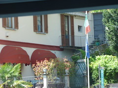 Hydrofoil boat from Tremezzo to Como - Argegno - Italy and EU flags (ell brown) Tags: trees italy mountain mountains tree boat italia flag eu flags shutters shutter lakecomo lombardia europeanunion lagodicomo lombardy italianflag europeanunionflag italyflag euflag argegno italianlakedistrict navigazionelagodicomo hydrofoilboat cittadicomo navigazionelagodicomoargegno