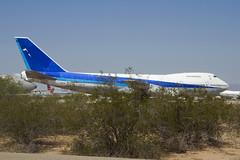 ex-All Nippon 747SR at Pinal Air Park (atg3v) Tags: arizona usa ana tucson boeing boneyard 747 marana pinal allnippon pinalairpark ja8148 mzj 747sr n243ba
