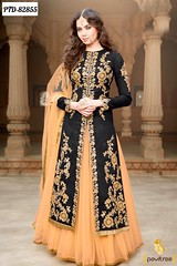 Buy Online Floor Length Anarkali Suits With Price (Pavitraa Fashion) Tags: wedding party long floor touch style wear suit jacket length salwar anarkali anarkalisalwarsuit