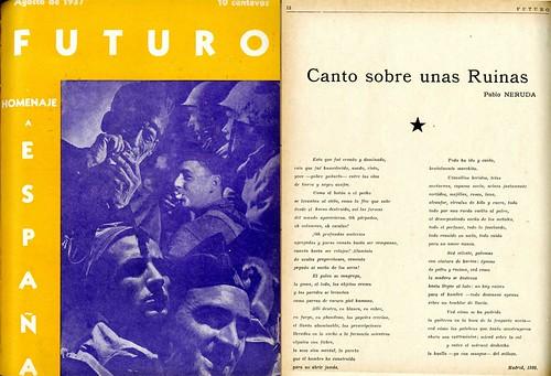 El General Franco en los Infiernos, Pablo Neruda
