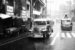 Rainy day. Going home.. (thescenerybegins) Tags: streets rain jeep philippines rainy manila makati jeepney