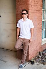 Polo, keyhole sunglasses (kent_wang) Tags: kevinhu outfit customer poloshirt sunglasses keyhole