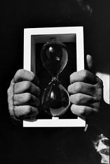 I'm not the master of my time (35mm film) (Cristo Bolaos) Tags: film filmisnotdead kodak trix400 push pushed pushed3200 analog nikon f90 50mm contrast clock time sand hands arena reloj light