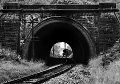Tunnel Twenty (Kingmoor Klickr) Tags: keighley keighleyworthvalleyrailway yorkshire 43924 4f mytholmes tunnel haworth