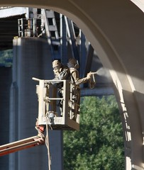 (MN transfer) Tags: road new bridge minnesota wisconsin project river design construction highway crossing engineering mississippiriver winona span roadway civilengineering buffalocounty interstatebridge minnesotahighway43 wisconsinhighway54