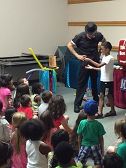 Magician (mcllibrary) Tags: ewing branch youth services event
