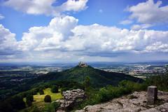 Fernblick (Gnter Hickstein) Tags: schwbischealb hohenzollern burghohenzollern urlaub vacation castle schlos burg vintage landscape landsschaft uelzen gnterhickstein summer sommer