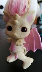 gargirl4 (meimi132) Tags: zelfs zelf series6 cute adorable trolls gargirl gargoyle yellow pink stone wings