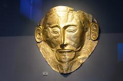 Agamemnon mask (mAlexandros) Tags: architettura atene geo grecia musei museonazionaleatene nikon greece athens attiki attica beautiful best ellade ellada ellas