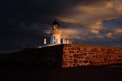 Shadow & Light (richbriggs28. Love being a grandad :)) Tags: richbriggs28 lighthouse chanonrypoint morayfirth blackisle sunrise