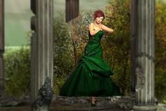 577  Emerald Dreams (Sannita_Cortes) Tags: fashion female it sl secondlife styles ikon scs virtualworld virtualfashion catwa argrace designercircle lalochezia trendfashionfair indulgetemptation sinfulcurveskins forbiddenintrigue