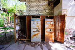 Cafe Pripyat and Pier