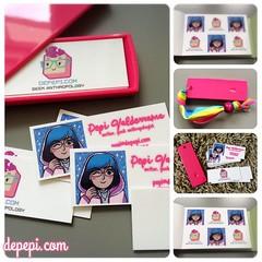 I got Geeky MOO Cards and Stickers! (depepi.com) Tags: depepi depepicom geek anthropology pop culture