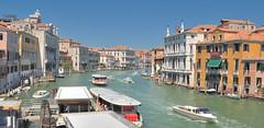 DSC_0112 (bikerchisp) Tags: venice italy ital italia venise canals lagoon bridges gondola holiday vacation europe adriatic sea water waterways streets blue sky bluesky sunshine bikerchisp