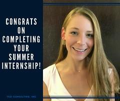 TCD Consulting-Congrats Ida (tcdconsulting) Tags: tcdconsulting tcdconsultinginc dallas fortworth internships interns summerinternship congrats