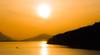 Sun Setting Over the Johnstone Strait (mharoldsewell) Tags: 2008 britishcolumbia d80 johnstonestrait nikkor nikon nikond80 boat mharoldsewell mikesewell photos sunset