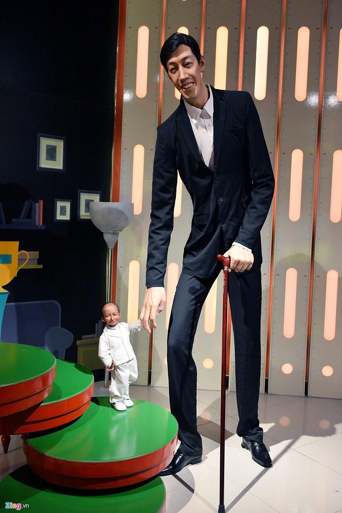 Hai người cao và thấp nhất thế giới