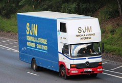 MB Atego - S.J.M Removals Inverness (scotrailm 63A) Tags: lorries trucks removals