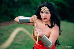 Wonder Woman (BTSEphoto) Tags: cosplay costume play コスプレ comic book superhero wonder woman dc comics universe princess diana themyscira prince fuji fujifilm xt1 yongnuo yn560 iii flash memorial houston park portrait fujinon xf 56mm f12 r lens