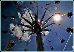 Jardin des Tuileries, Paris: Le carrousel (Ioan BACIVAROV Photography) Tags: tuileries paris france carrousel bacivarov ioanbacivarov photostream interesting beautiful wonderful wonderfulphoto nikon blue people