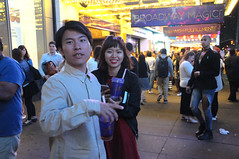 Times Square people September 2016 (zaxouzo) Tags: timessquare people september 2016 nikond90 nyc candid fashion night couple