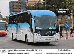 CANOVAS. Volvo B12B Sunsundegui Sideral 2000 (MAPENARROCHA) Tags: valencia falles fallas valncia sunsundegui sunsundeguisideral2000 sunsundeguisideral2000ii volvo volvob12b canovas canovasautocares grupotransvia