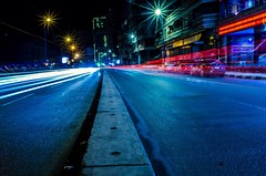 Alexandria, Egypt. #night #street #lights #cars #high #way #moon #sweet #shot #spot #love #flick #it (Emad El-Din Mamdouh) Tags: sweet moon way street love spot high night it cars flick shot lights