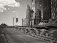 W. 39th Street, NYC (SG Dorney) Tags: ny nyc newyork newyorkcity manhattan blackandwhite bw blackwhite mono monochrome