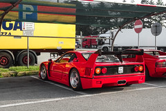 Modifed (Stefano Bozzetti) Tags: ferrari f40 ferrarif40 scuderiaferrari ferrarif40lm lm wing modified custom legend legendary myth ultimate car auto automotive automobile supercar exotic historic beast spotted italia italy 19bozzy92