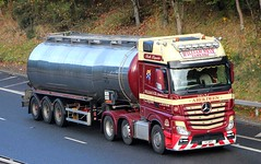 MB Actros MP4 - WILLIAM NICOL Tankers Aberdeen (scotrailm 63A) Tags: lorries trucks tankers