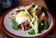 20161020-04-Pulled pork waffles at Room for a Pony in Hobart (Roger T Wong) Tags: 2016 australia hobart iv metabones rogertwong roomforapong sigma50macro sigma50mmf28exdgmacro smartadapter sonya7ii sonyalpha7ii sonyilce7m2 tasmania cafe egg food lunch pulledpork waffle