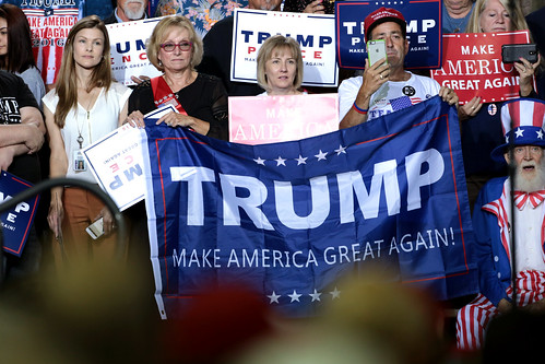 Donald Trump supporters by Gage Skidmore, on Flickr