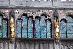 Golden angels in Bruges (quinet) Tags: 2014 belgium bruges engelen angels anges antwerp flanders