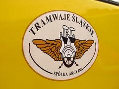 New logo Tramwaje lskie (transport131) Tags: tram tramwaj t bdzin kzk gop logo