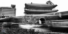 Namdaemum Gate (dareshorunke) Tags: namdaemumgate namdaemum gate seoul korea south landmark dare shorunke optic canvas photographer streaks daylight motion blur