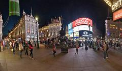 "London: ""Picadilly Circus"". (lgonzalez_l Luis Gonzlez) Tags: london londres londonnight picadillycircus nikon"