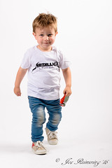 Metallicaman (josreimering1) Tags: ilya fotoshoot portrait portret whitebackground metallica littleboy jongentje stoer cool