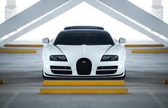 The best Veyron (TheCarhotel) Tags: bugatti veyron grand sport vitesse lorque blanc dubai meydan uae