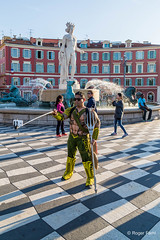 Selfie - Nice (FARHI Roger) Tags: selfie nice france placemassna touriste neptune photo personne