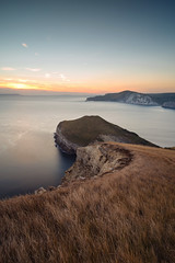 Worbarrow Bay (tariqphoto) Tags: worbarrow bay dorset uk england sunset autumn sony a7 zeiss loxia 21mm lee filters swanage purbeck seascape landscape long exposure