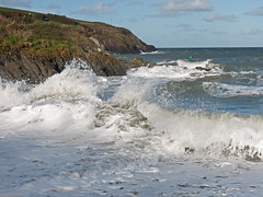Bigger Splash: The Parrog (Images of Elsewhere) Tags: theparrog newportpembrokeshire storm hightide waves roughsea
