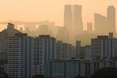 DSC05056_DxO_LR (teckhengwang) Tags: sunrise from clementi singapore landscape hdb